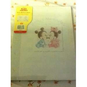Disneys Babies Mickey & Minnie Mouse Babys Memories Book Baby