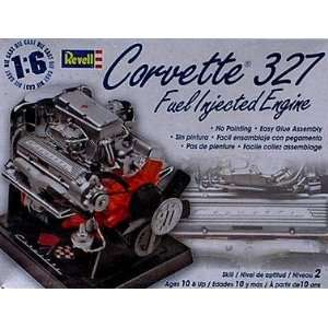 Corvette 327 Fuel Injected Metal Body Engine 1 6 by Revell