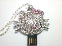 Bling Crystal Hello Kitty 4GB USB Flash Thumb Drive New