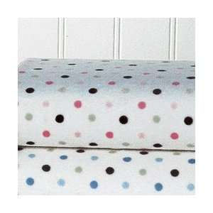 Carters Super Soft Printed Changing Pad Cover   Pink/Green Dot Baby