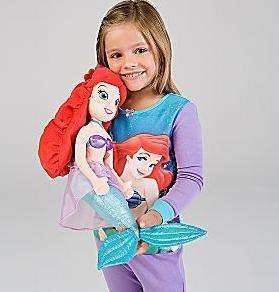 Disney Princess Ariel Little Mermaid Plush Doll 20 BIG