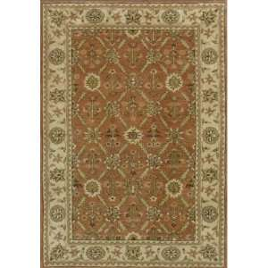 Dynamic Rugs Charisma Ivory Area Rug, Rust