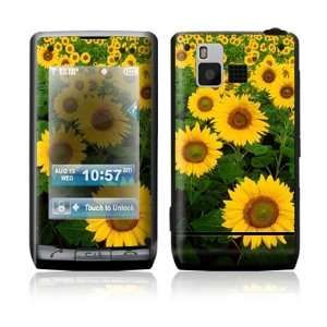 LG Dare VX9700 Skin Sticker Decal Cover   Sun Flowers
