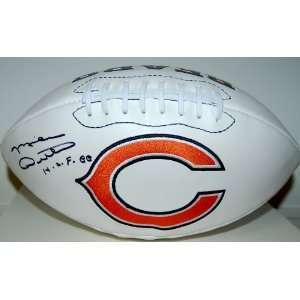 Mike Ditka Autographed Chicago Bears Football w/HOF