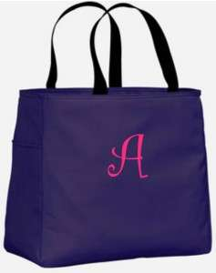 Bridesmaid Gift Bags Personalized Tote Bag Monogram Bridal Wedding