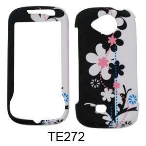 Samsung Reality u820 Black and White Flowers Hard Case/Cover/Faceplate