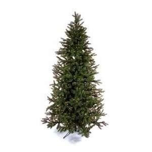 7.5 Frasier Fir White Pre lit Christmas Tree Cone