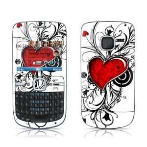 My Heart Design Protective Skin Decal Sticker for Nokia C3