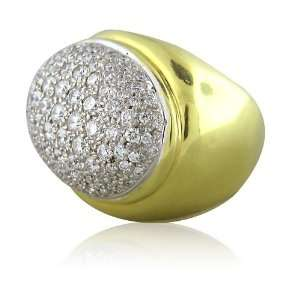 Faraone Mennella Yellow gold 18k Diamond Ring Jewelry