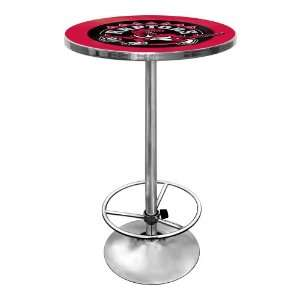 NBA Toronto Raptors Chrome Pub Table