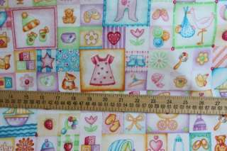 Baby Girl Flannel Fabric Marcus Fabrics 447127 0226