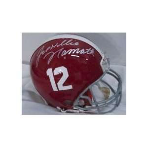 Joe Namath Autographed/Hand Signed Alabama Crimson Tide