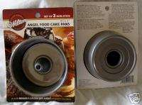 WILTON MINI angel food METAL CAKE PAN PANS BAKEWARE
