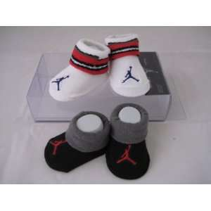 Nike Jordan Infant New Born Baby Booties 0 6 Months with Jumpman