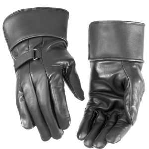 River Road Custer II Leather Gauntlet Motorocycle Glove