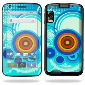 Vinyl Skin Decal Cover for Motorola Atrix 4G Cell Phone   Modern Retro