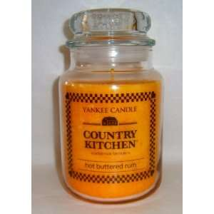 Hot Buttered Rum   22 Oz Large Jar Yankee Candle