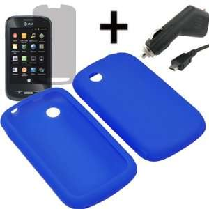 AM Soft Sleeve Gel Cover Skin Case for AT&T ZTE Avail Z990