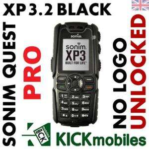 BNIB SONIM XP3.2 QUEST PRO BLACK RUGGED UNLOCKED PHONE