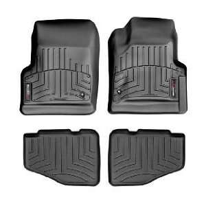 2005 2006 Jeep Wrangler Unlimited Black WeatherTech Floor Liner (Full