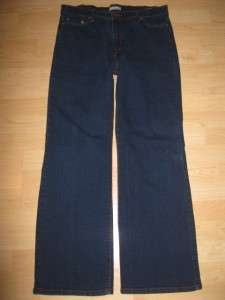 Womens Levis 512 Perfectly Slimming Boot Cut Jeans size 16 Short