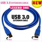 USB 3 0 2 0 Male Female Extension Cord Cable 4 8Gbps