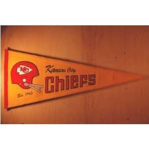 Kansas City Chiefs   NFL Football Throwbacks (Pennants
