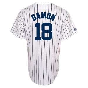 Johnny Damon New York Yankees Youth Replica Home Jersey
