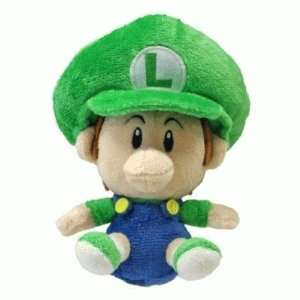 Sanei Baby Luigi Soft Stuffed Plush Super Mario Plush Series Plush