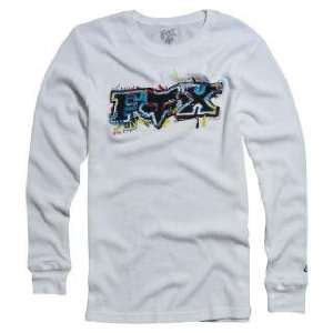 Fox Racing Casino Thermal White L Automotive
