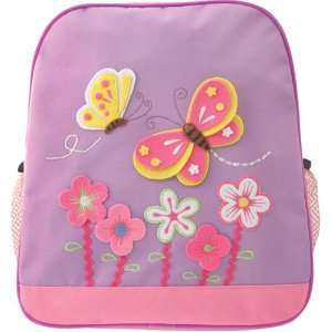 Kids Girls Purple Pink Butterfly Backpack item# kk5972h