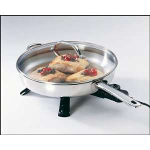 Presto Stainless Steel Electric Skillet