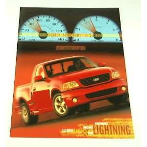 2002 02 Ford SVT F150 Lightning Pickup Truck Brochure