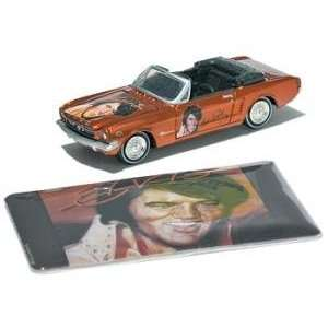 Johnny Lightning 65 Ford Mustang Convertible Elvis Toy