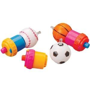 Sports Ball Spring Spin Tops Toys & Games