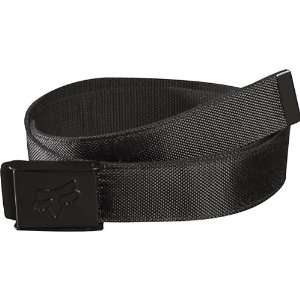 Fox Racing Armour Web Mens Casual Wear Belt   Black / One