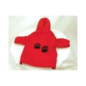 Paw Prints Embroidered Polar Fleece for Dogs (Medium)