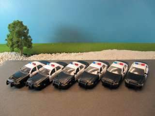 Ford Crown Victoria Squad Car (New No Box) (Qty 6) Lot 143