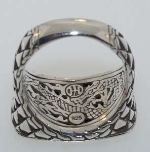 JOHN HARDY MENS STERLING SILVER RING