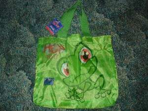 Littlest Pet Shop green FROG tote bag for easter