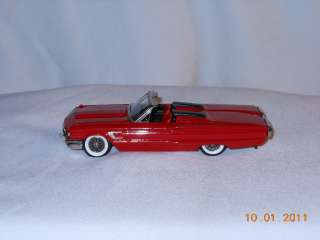 BROOKLIN #47 1965 FORD THUNDERBIRD CONVERTIBLE