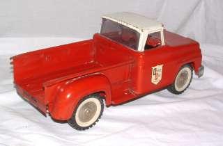 1960s WESTERN AUTO PICK UP TRUCK RED