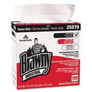 Georgia Pacific 25070CT   Brawny Industrial Heavy Duty Shop Towels, 9