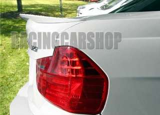 BMW E90 PERFORMANCE STYLE PAINTED TRUNK LIP SPOILER