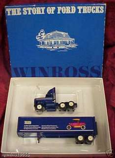 Winross The Story of Ford Trucks (1912 Ford) Semi MIB