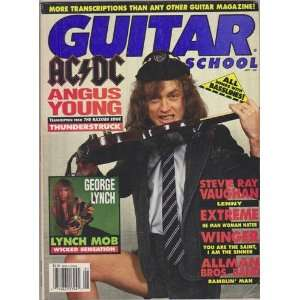 Guitar School Magazine (January 1991) (AC/DC Angus Young