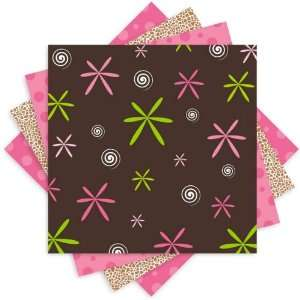 modern mama pink partyware pattern sheets Arts, Crafts