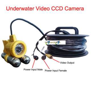New 50M CCD Color Camera Fishing Underwater Video Camera