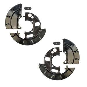 PAIR Chevy Pickup/Van 2 Piece Drum Brake Backing Plate