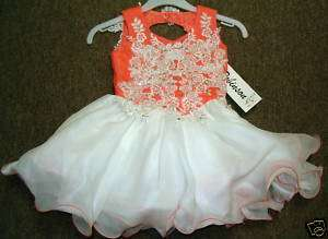 NFANT TODDLER NATIONAL GLITZ PAGEANT DRESS